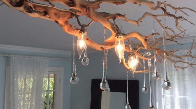 The 25+ Best Branch Chandelier Ideas On Pinterest | Hanging throughout Tree Branch Ceiling Light - callmejobs.com