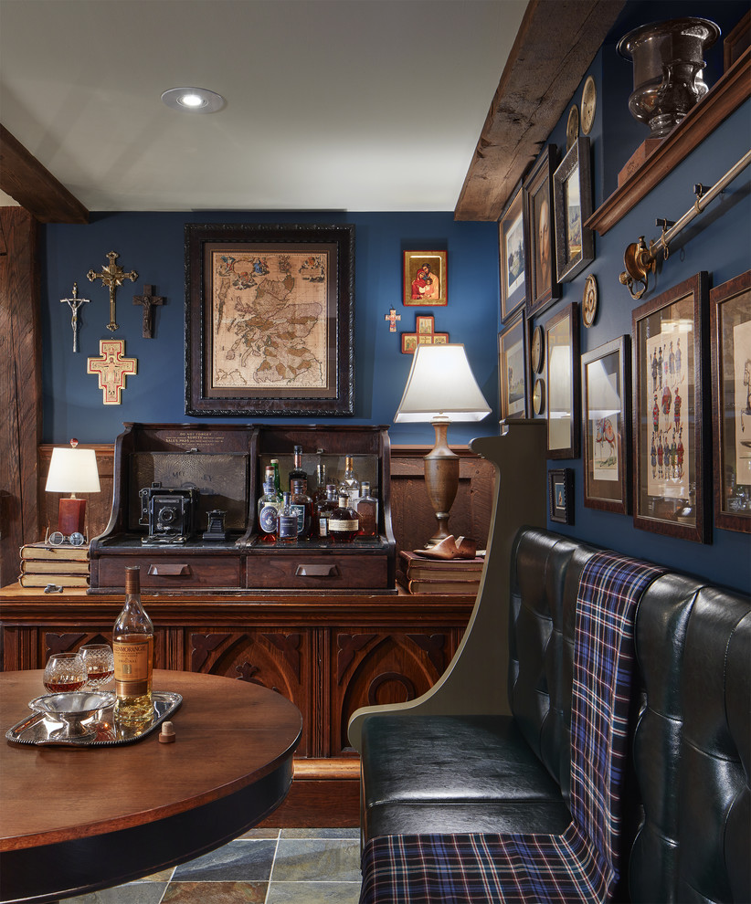 15 Sophisticated Traditional Home Bar Designs That Will