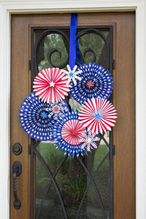 4th Of July Diy Wreath