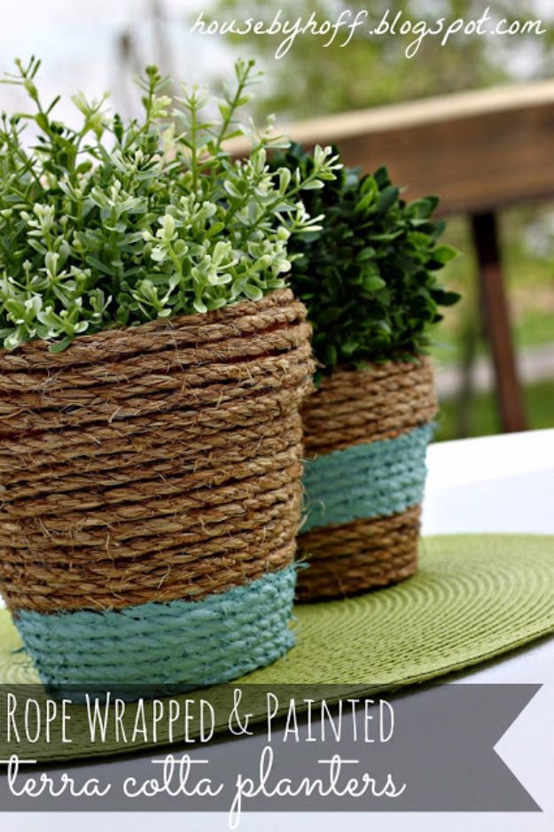 16 Fantastic DIY Planter Ideas That Will Freshen Up Your Patio
