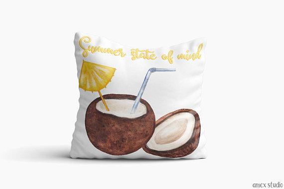 18 Refreshing Handmade Summer Pillow Designs To Jazz Up Your Seasonal Decor