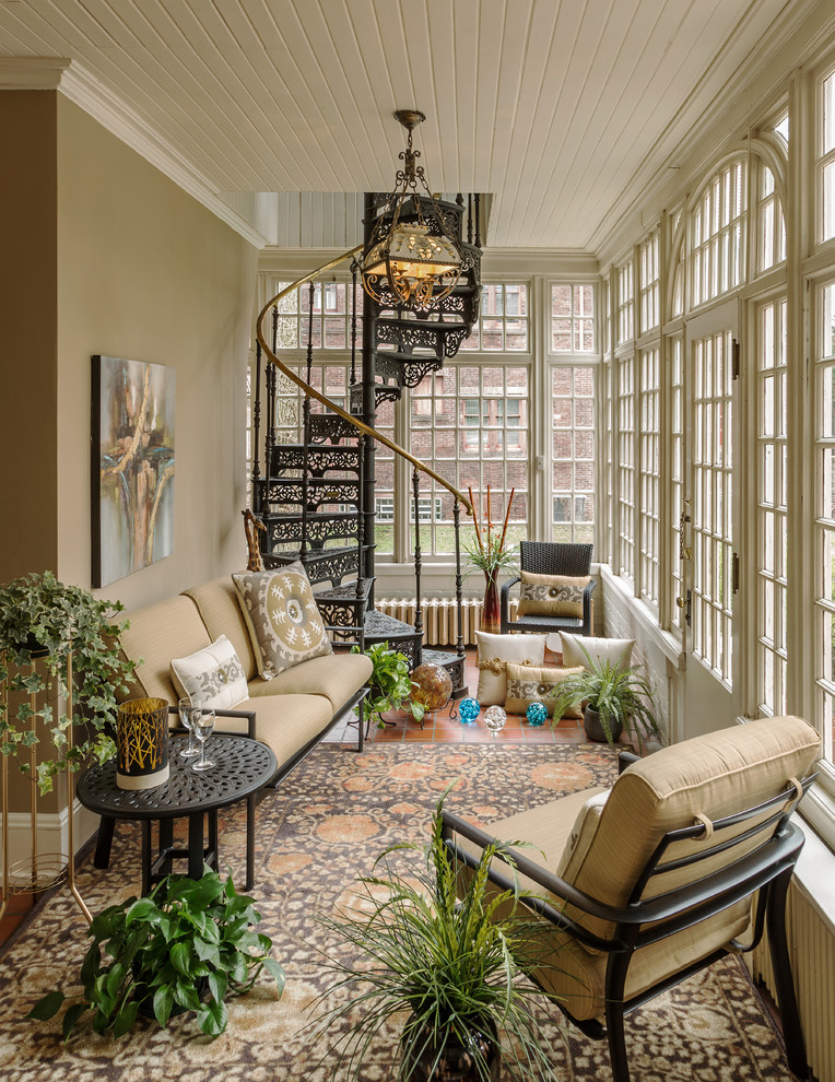20 Picturesque Traditional Sunroom Designs That Will