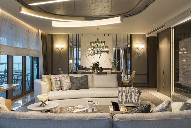 An Award Winning Flat Design with Luxurious Details: Yedimavi Show Flat