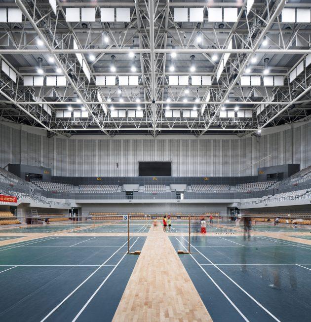 Landscape temperament - Balance and integration: Lin'an Sports and Culture Center
