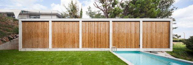 Retina House by Arnau estudi d'arquitectura in Santa Pau, Spain