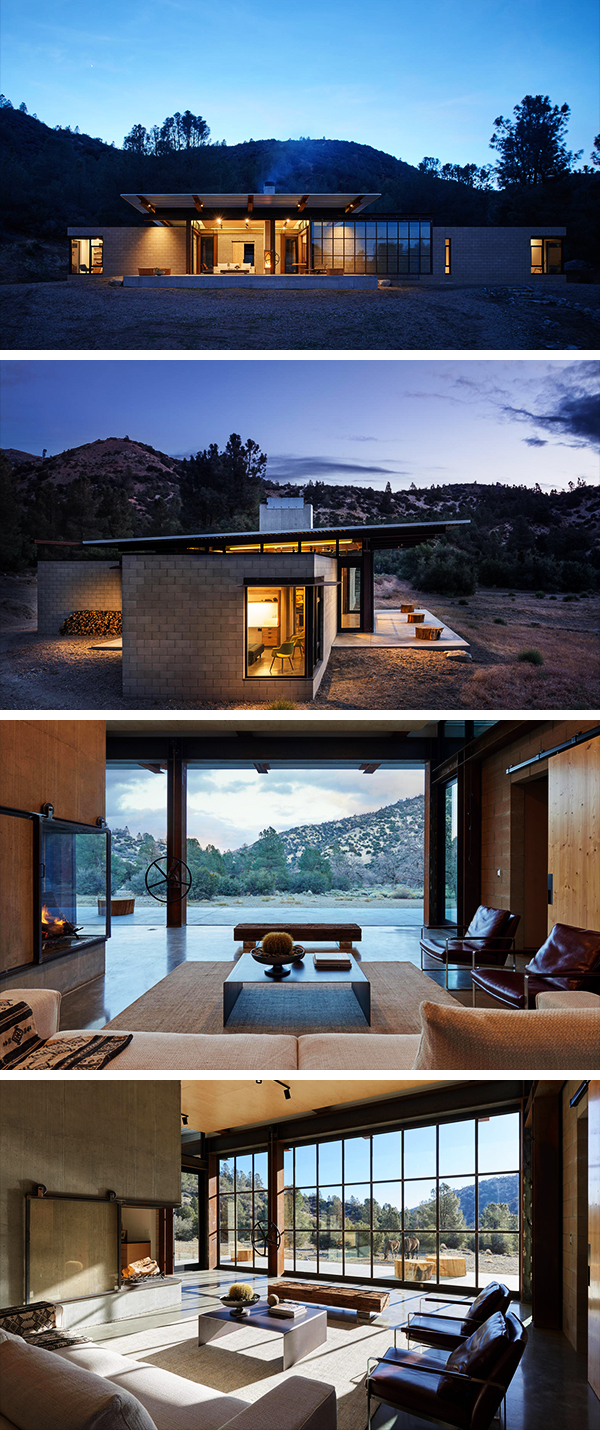 Sawmill Retreat by Olson Kundig Architects in Tehachapi ...