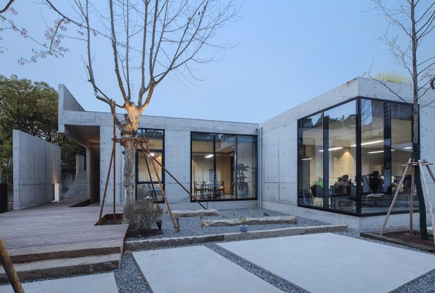 Shen Shen Garden – Private office in a garden of ease and peace by Yushe Yuzhu