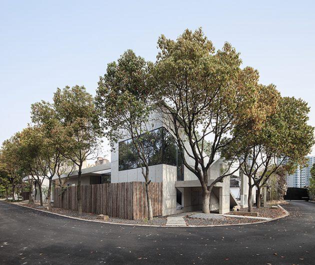 Shen Shen Garden – Private office in a garden of ease and peace by Yushe Yuzhu