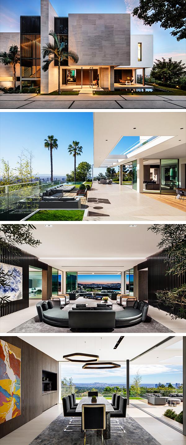 Stradella Residence by SAOTA in Los Angeles, California