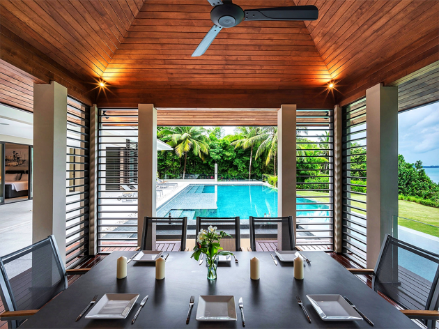 Villa Naam Sawan – Iconic Example of Modern Design Influenced By Traditional Thai Architecture