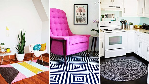 15 Beautiful DIY Rug Ideas That Anyone Can Make