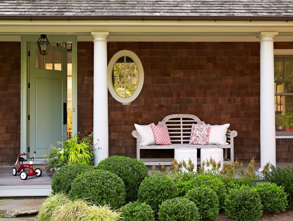15 Charming Traditional Porch Designs You'd Love To Spend ...