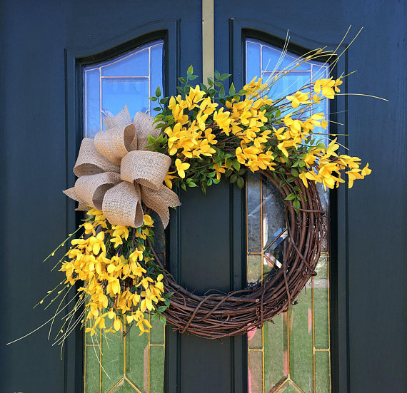 15 Dreamy Handmade Summer Wreath Designs Made With Fresh Flowers