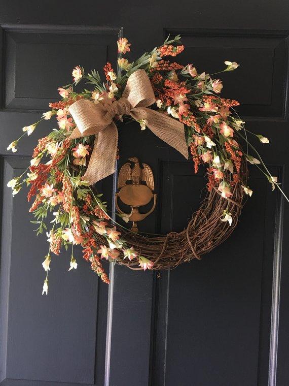 15 Dreamy Handmade Summer Wreath Designs Made With Fresh Flowers