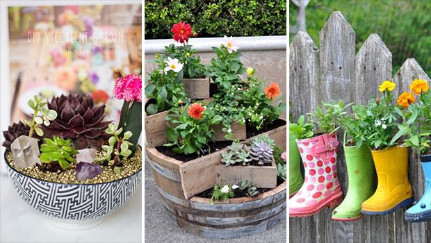 15 Impressive DIY Ideas That Will Show You How To Grow Plants In A Small Garden