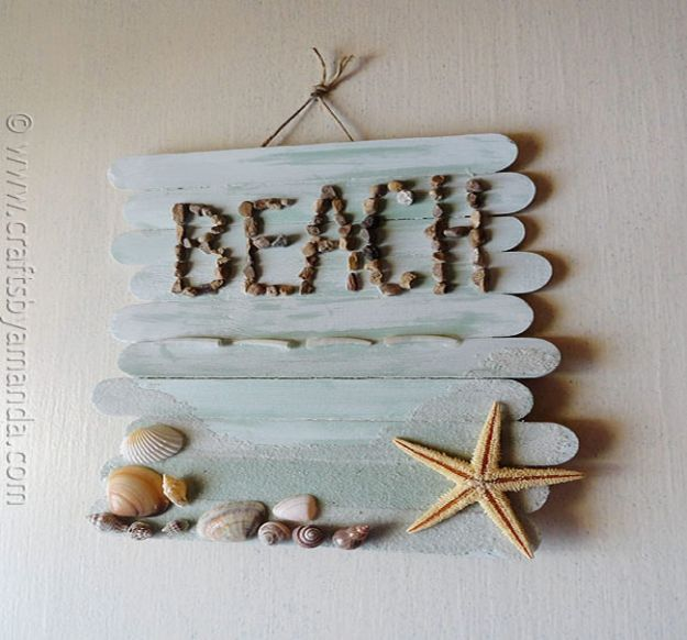 Pleasing 15 Refreshing Diy Beach Themed Decor For Your Home Beutiful Home Inspiration Semekurdistantinfo