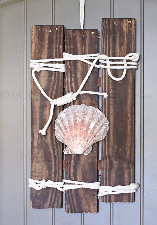 Swell 15 Refreshing Diy Beach Themed Decor For Your Home Beutiful Home Inspiration Semekurdistantinfo