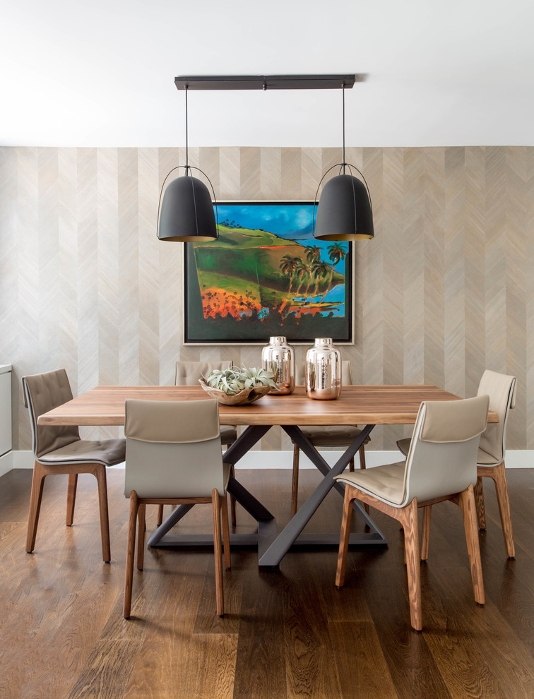 15 Thrilling Tropical Dining Room Interiors That Will Impress You