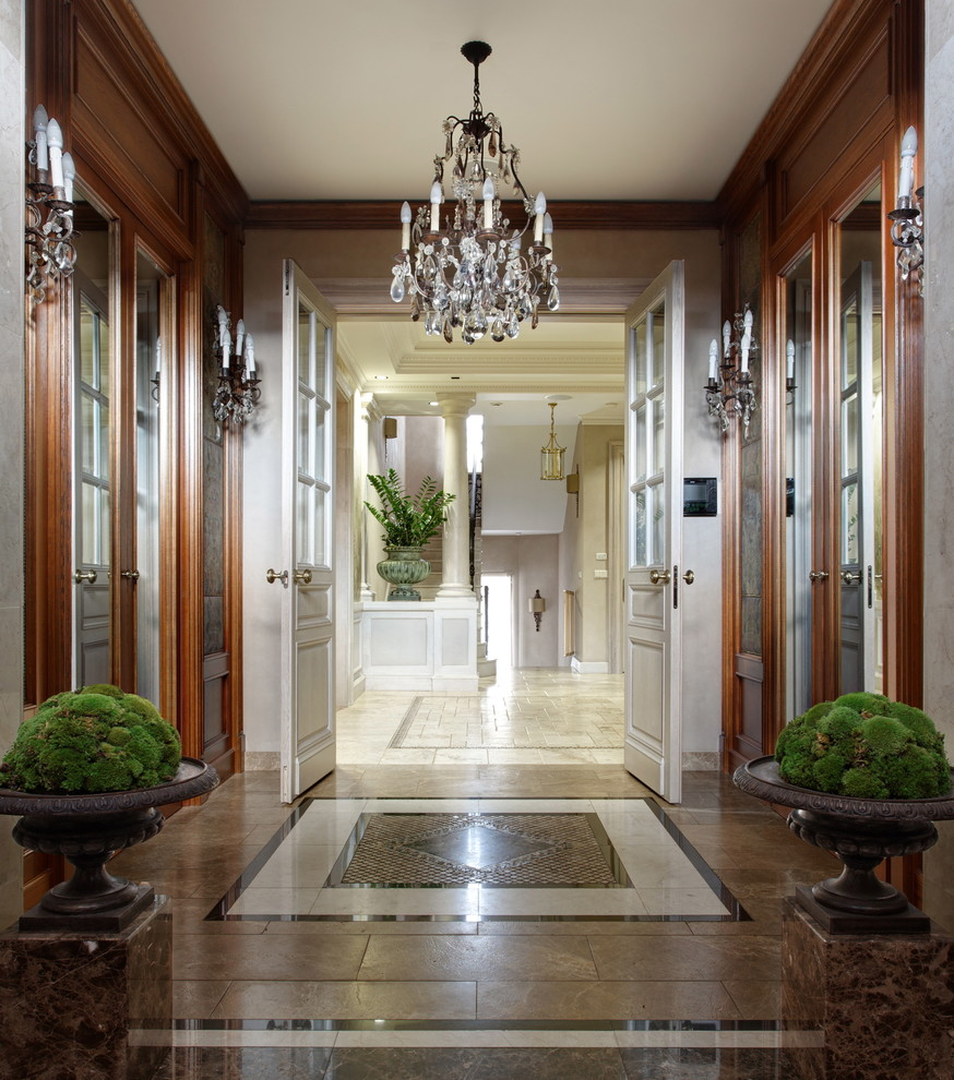 Modern Beautiful Home Gardens Designs Ideas: 16 Beautiful Traditional Hallway Designs You Should Explore