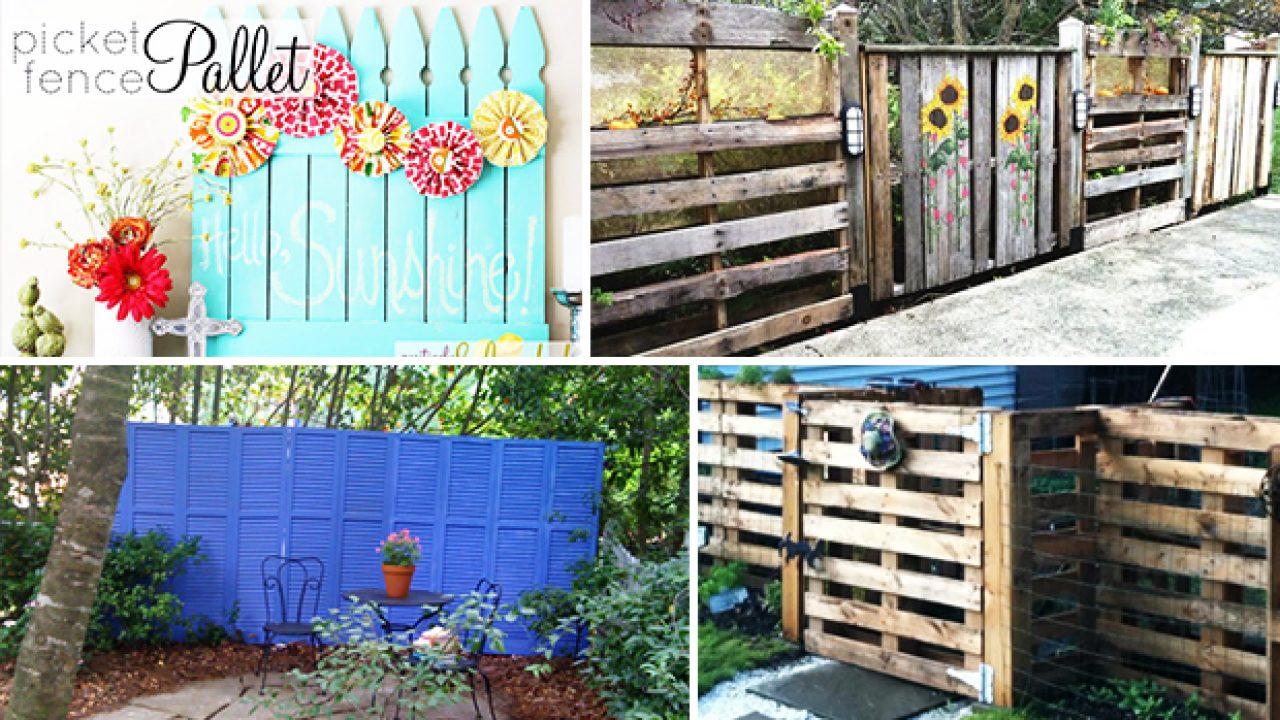 17 Fantastic Diy Fence Ideas You Should Consider Making For