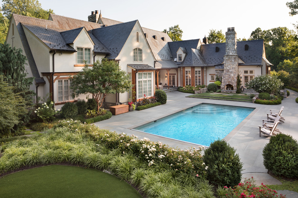 20 Sensational Traditional Swimming Pool Designs That Simply Invite You For A Dip