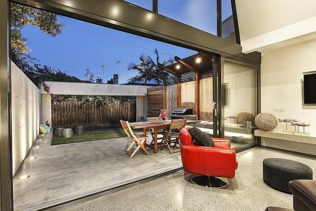 Baker Street Residence by FGR Architects in Melbourne, Australia