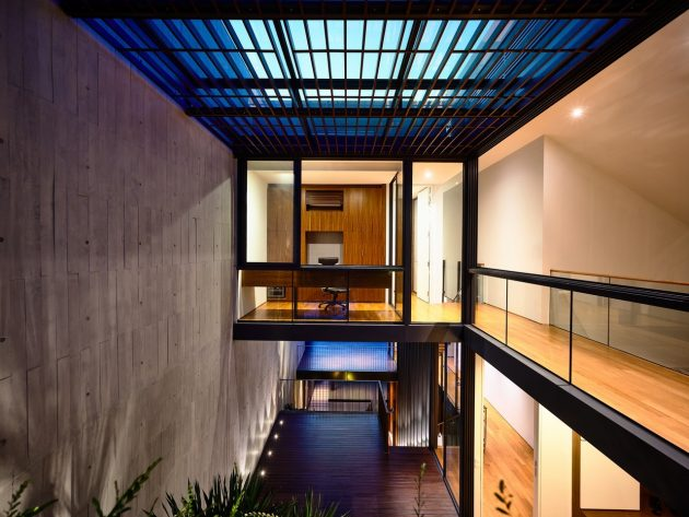 Cascading Courts Residence by HYLA Architects in Singapore