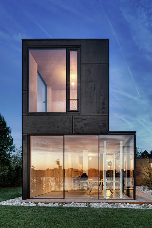 Lake House by Maximilian Eisenköck Architektur in Steinbrunn, Austria