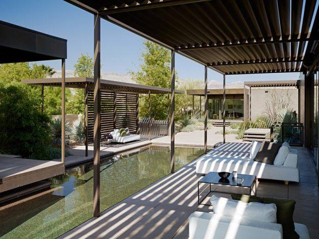 Las Vegas Residence by Marmol Radziner in Las Vegas, Nevada