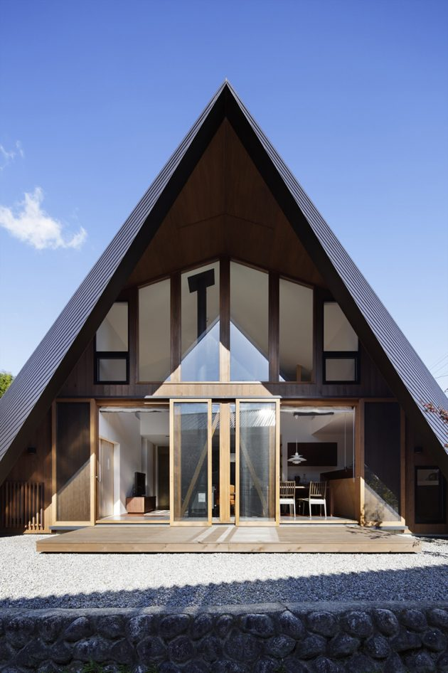 Origami House by TSC Architects in the Mie Prefecture, Japan