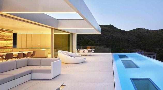 Quarry House by Ramon Esteve Estudio in Valencia, Spain