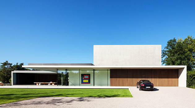 Vdb residence by govaert vanhoutte architects near ghent - Architectural designers near me ...