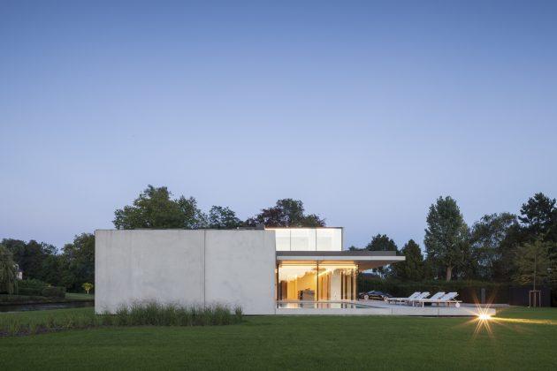VDB Residence by Govaert & Vanhoutte Architects near Ghent, Belgium