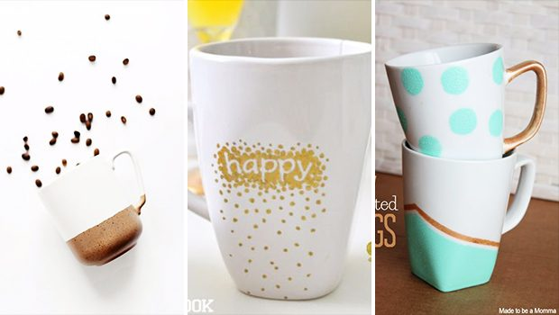 15 Adorable DIY Coffee Mug Designs Everyone Can Make
