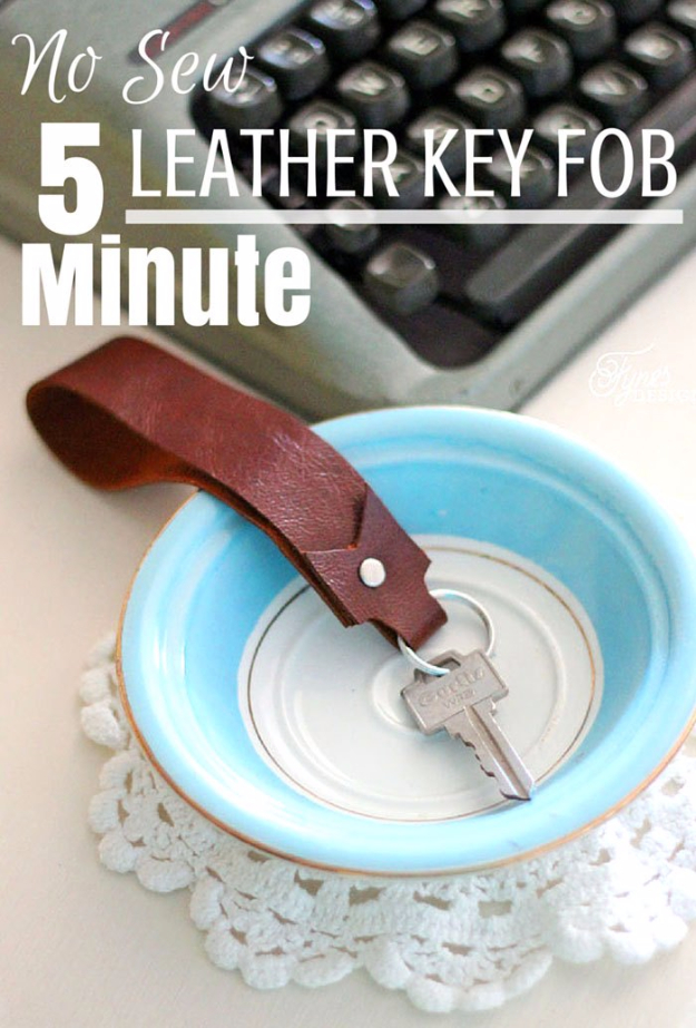 15 Amazing Leather Crafts Youll Want To DIY Instantly