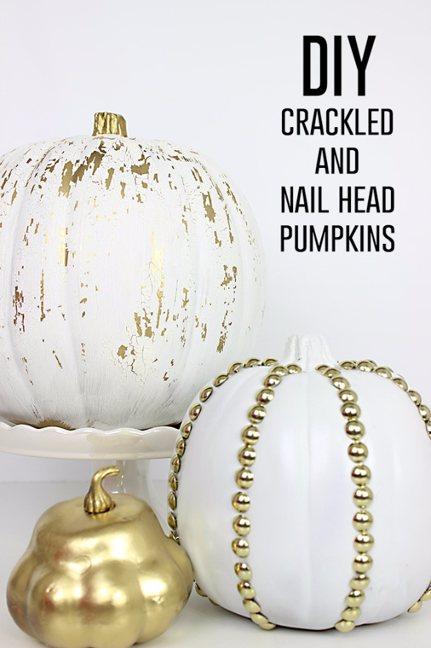 15 Awesome And Easy DIY Pumpkin Crafts To Add To Your Fall Decor