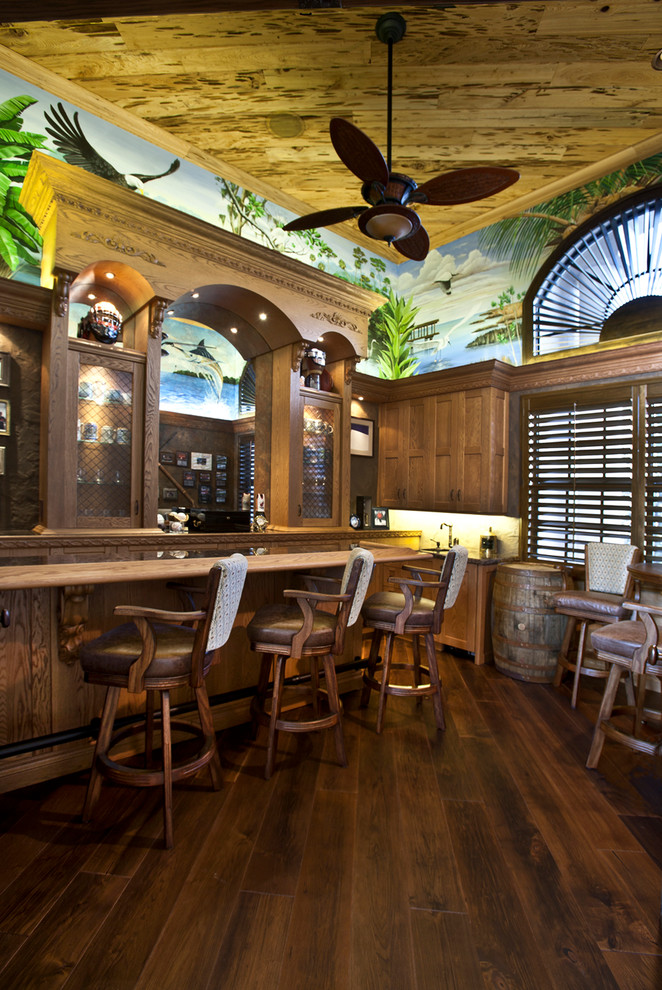 Kitchen Design Ideas: 15 Awesome Tropical Home Bar Designs Every Getaway Needs