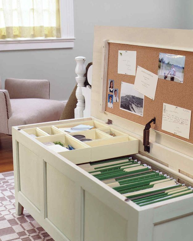 15 Creative DIY Projects To Customize And Organize Your Home Office