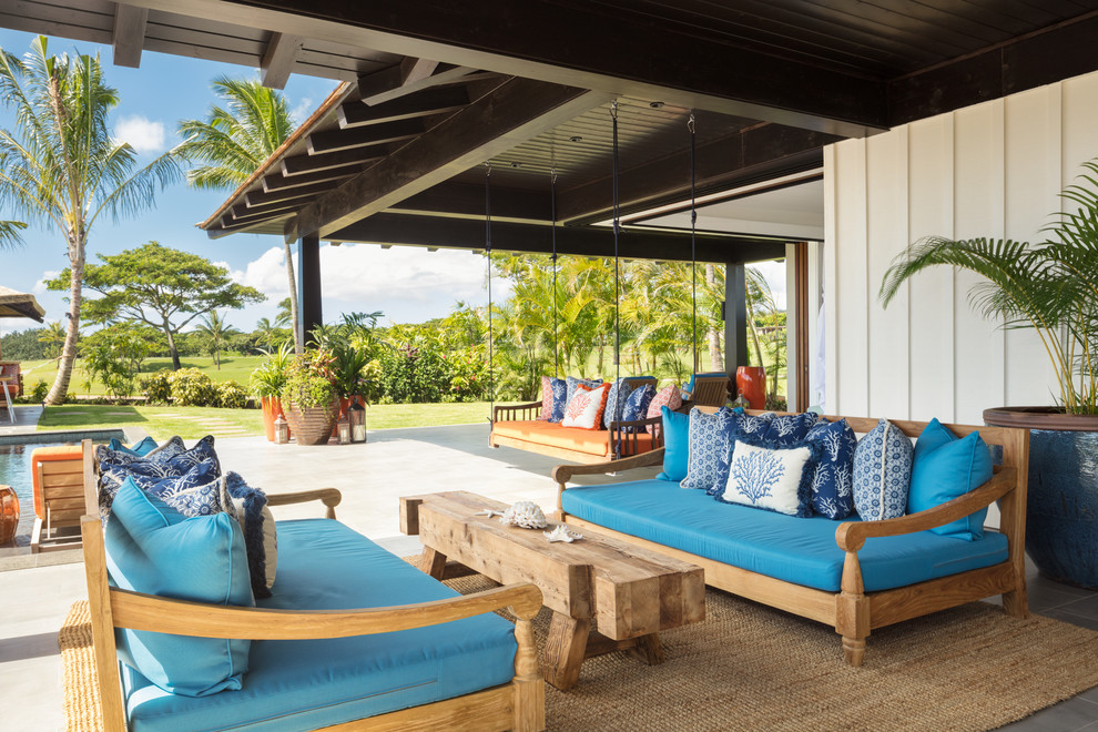 15 Picturesque Tropical Patio Designs You Will Absolutely Adore
