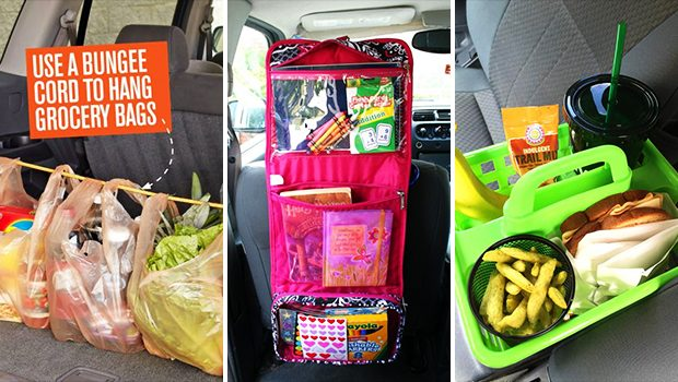 15 Super Easy DIY Car Organization Ideas For Your Road Trips