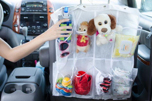 15 Super Easy DIY Car Organization Ideas For Your Road Trips