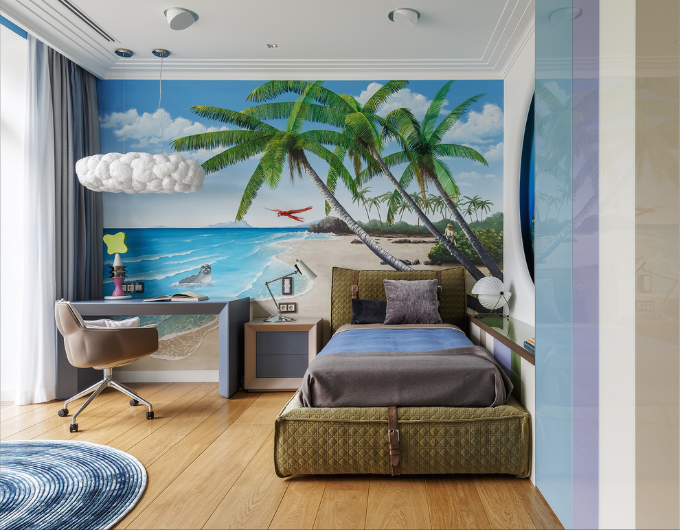 15 Vibrant Tropical Kids' Room Interior Designs For Your Summer Getaway Home