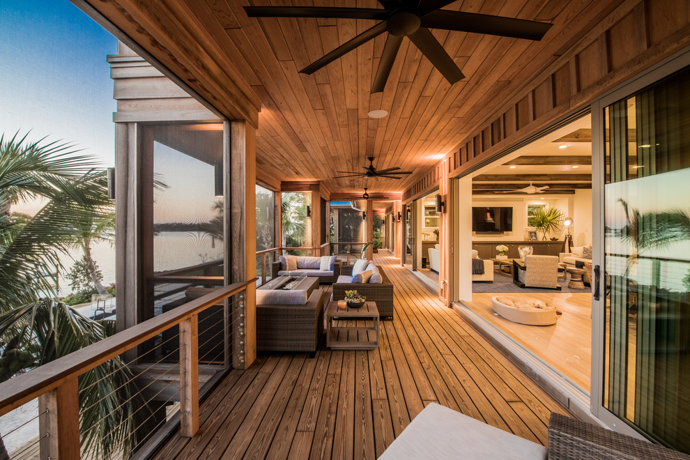 18 Fantastic Tropical Deck Designs Youll Want To Own