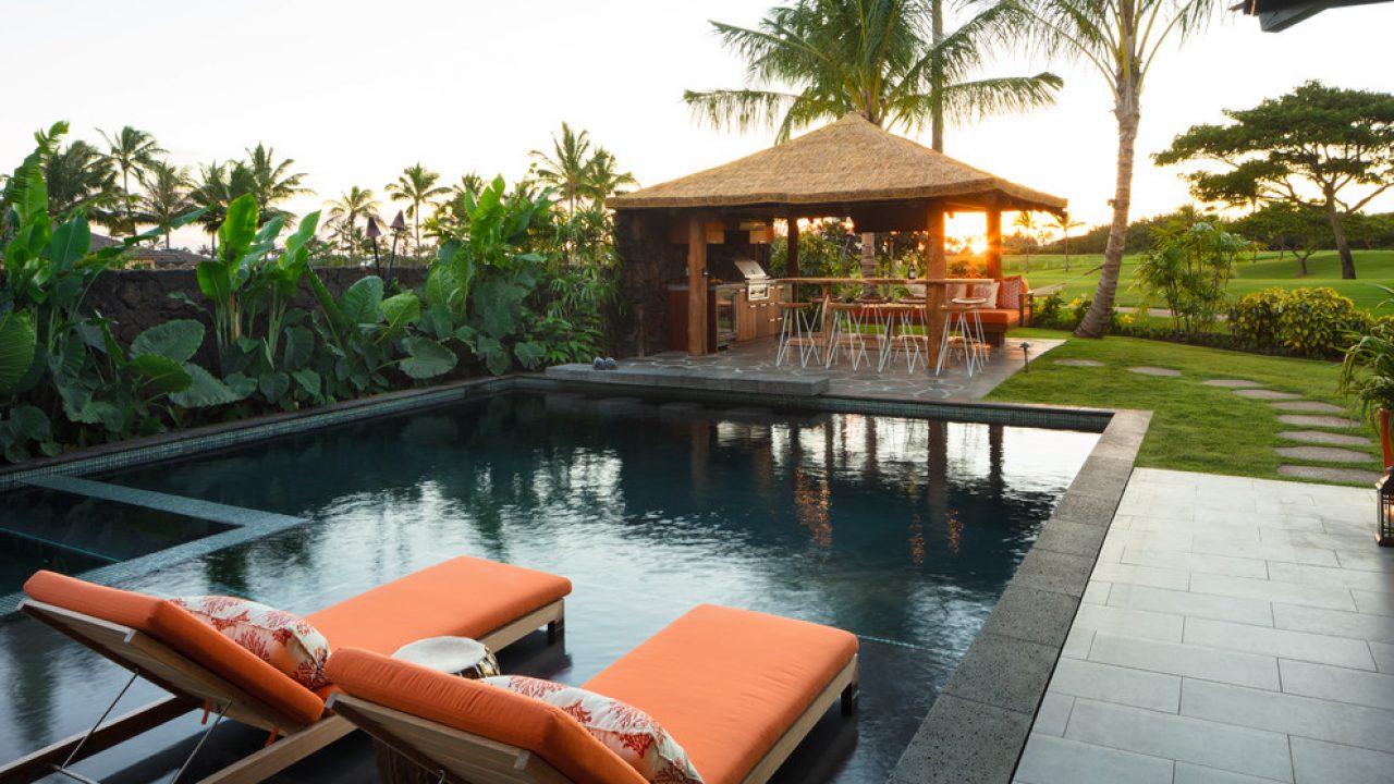 20 Mesmerizing Tropical Swimming Pool Designs That Will Take ...