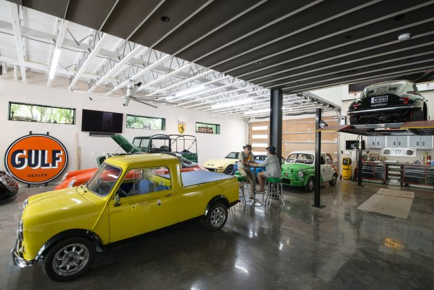 Autohaus by Matt Fajkus Architecture in Austin, Texas