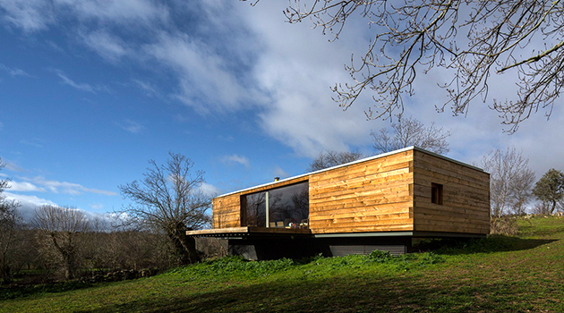 B House by CH+QS Arquitectos in Segovia, Spain