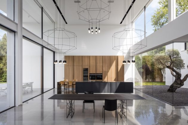 F House by Pitsou Kedem Architects in Savyon, Israel
