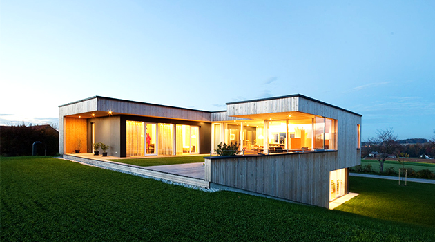 House D by Hohensinn Architektur in Neuhofen, Austria