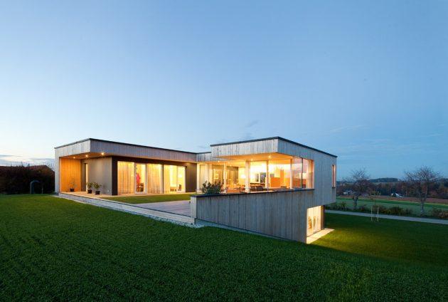 House D by Hohensinn Architektur in Neuhofen, Austria