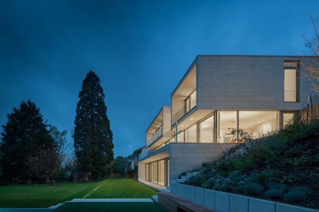 House P+G by Architekten Wannenmacher+ Möller GmbH in Weinheim, Germany